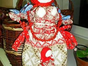 Занятие Кукла Рябинка | Ярмарка Мастеров - ручная работа, handmade