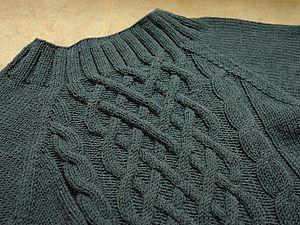 Бесшовный реглан.Вязание.Мк | Ярмарка Мастеров - ручная работа, handmade