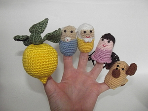 Зачем ребенку кукольный театр (пальчиковая и кукла-перчатка)? Часть первая: | Ярмарка Мастеров - ручная работа, handmade