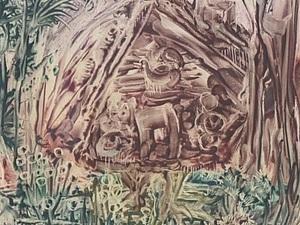 Энкаустика - рисовала в подарок коллекционеру   Ярмарка Мастеров - ручная работа, handmade