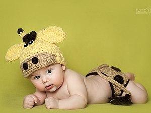 Ах, эти милые малыши... Вязание для фото малышей | Ярмарка Мастеров - ручная работа, handmade