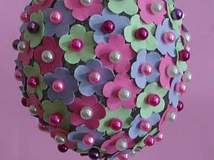 Цветочное пасхальное яйцо.. Ярмарка Мастеров - ручная работа, handmade.
