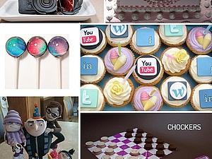 Урааа! День сладостей! | Ярмарка Мастеров - ручная работа, handmade