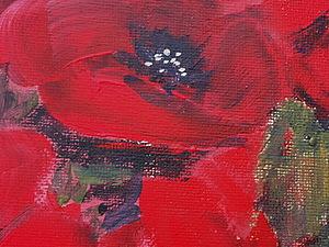 Рисуем МАК-цветок порока. АКЦИЯ: мастер-класс за 500 руб(все включено)   Ярмарка Мастеров - ручная работа, handmade