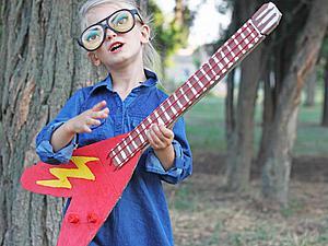 Делаем гитару для юной рок-звезды. Ярмарка Мастеров - ручная работа, handmade.
