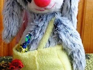 Зайка-Конфетка! | Ярмарка Мастеров - ручная работа, handmade
