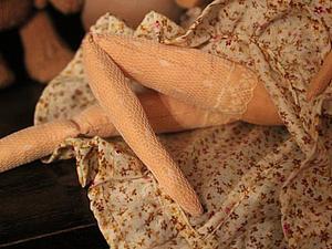 Шьем кружевные чулки для Кукол Тильда. Ярмарка Мастеров - ручная работа, handmade.