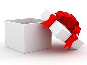 розыгрыш подарка, подарок, банер