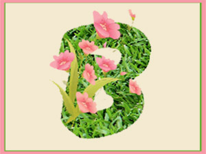 Весенний шрифт в Фотошопе. Ярмарка Мастеров - ручная работа, handmade.