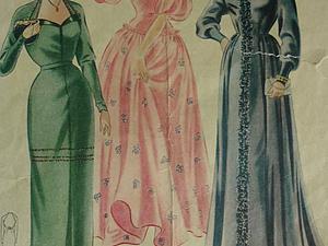 Модный журнал 50-х годов...   Ярмарка Мастеров - ручная работа, handmade