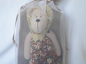 Полупрозрачный мешочек для игрушек | Ярмарка Мастеров - ручная работа, handmade