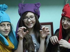 Дизайнерские шапки из флиса | Ярмарка Мастеров - ручная работа, handmade