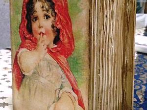 Шкатулка-книга  декупаж, имитационные техники   Ярмарка Мастеров - ручная работа, handmade