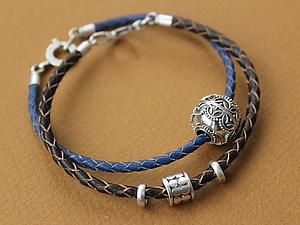 Кожаные браслеты: размеры и цвета | Ярмарка Мастеров - ручная работа, handmade