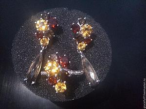 Позолоченные серьги. Старт 1990 руб | Ярмарка Мастеров - ручная работа, handmade
