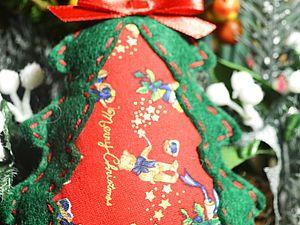 Шьем елочку из фетра.  2 часть. Ярмарка Мастеров - ручная работа, handmade.