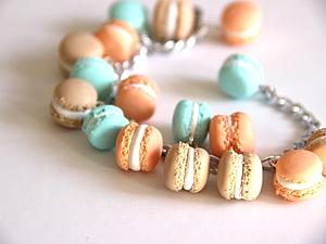 Французский Macaron из полимерной глины. | Ярмарка Мастеров - ручная работа, handmade