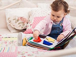 Развивающая книга - зачем и как играть? | Ярмарка Мастеров - ручная работа, handmade
