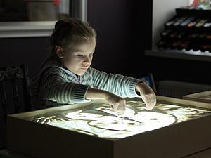 Рисование песком на световых столах. | Ярмарка Мастеров - ручная работа, handmade