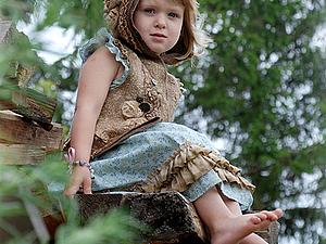 Мастер из Эстонии Светлана Вронская. МК по созданию детского жилета.   Ярмарка Мастеров - ручная работа, handmade