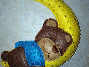 """Шьем игрушку-панно """"Мишкин сон"""" из фетра. Ярмарка Мастеров - ручная работа, handmade."""