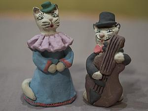 И снова кошки! | Ярмарка Мастеров - ручная работа, handmade