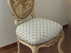 Обивка стула. Пошаговый МК. handmade