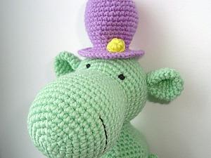 Вяжем забавную шляпку для игрушки. Ярмарка Мастеров - ручная работа, handmade.