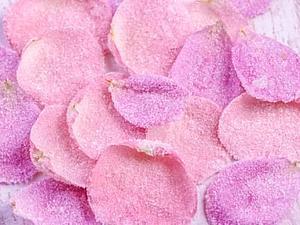 Сахарные лепестки роз | Ярмарка Мастеров - ручная работа, handmade