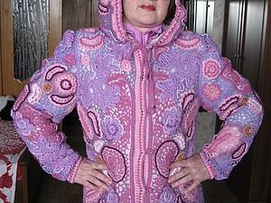 Куртка с капюшоном Фиалка (Ирландия) | Ярмарка Мастеров - ручная работа, handmade