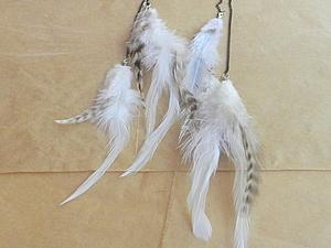 Мастер класс, Воздушный кафф с перьями.. Ярмарка Мастеров - ручная работа, handmade.