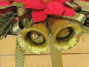 Делаем сладкий колокольчик к Новому году. Ярмарка Мастеров - ручная работа, handmade.