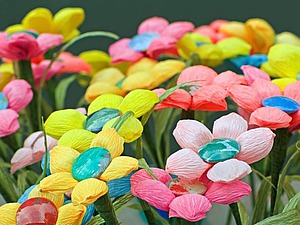 Скрапбукинг. Цветы из бумаги. | Ярмарка Мастеров - ручная работа, handmade