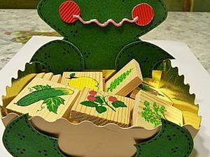 Мастерим забавную коробку-хранитель мелочей. Ярмарка Мастеров - ручная работа, handmade.