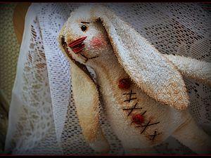 Аукцион! Сегодня! Игрушка для сна! Махровый Зай! | Ярмарка Мастеров - ручная работа, handmade