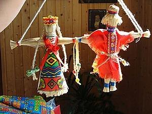 Неразлучники лыковые. Мастерим русский народный свадебный сувенир. Ярмарка Мастеров - ручная работа, handmade.