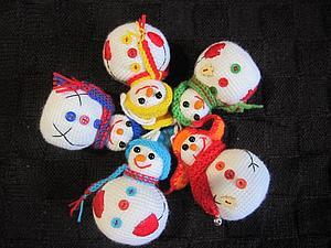 Новый год все ближе, снеговиков все больше!!! | Ярмарка Мастеров - ручная работа, handmade