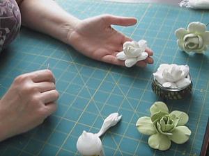 Видео мастер-класс: лепим гардению из полимерной глины. Ярмарка Мастеров - ручная работа, handmade.