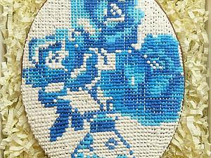 Пасхальный розыгрыш КОНФЕТКИ - большой пряник-вышивка! До 15.03.14 г.   Ярмарка Мастеров - ручная работа, handmade