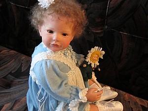 Малышка Салли - кукла реборн Инны Богдановой   Ярмарка Мастеров - ручная работа, handmade