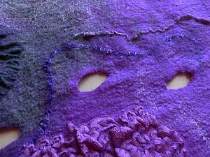 Пряжа для декора в войлоке - учимся прясть | Ярмарка Мастеров - ручная работа, handmade