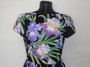 Платье Ирисы | Ярмарка Мастеров - ручная работа, handmade