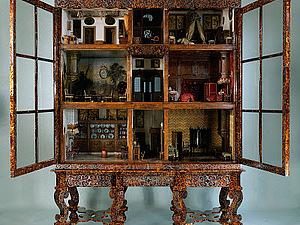 Кукольный домик Петронеллы Ортман. Ярмарка Мастеров - ручная работа, handmade.