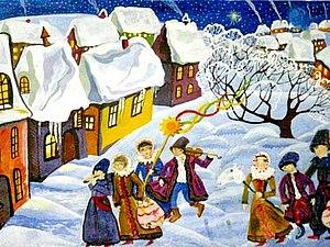 Давние традиции зимних праздников | Ярмарка Мастеров - ручная работа, handmade