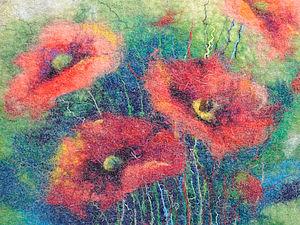 Рисование с шерстью | Ярмарка Мастеров - ручная работа, handmade
