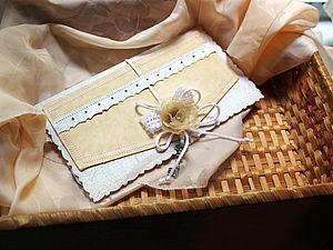 Подарочный конверт своими руками | Ярмарка Мастеров - ручная работа, handmade