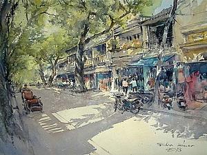 Классные акварели тайского художника. | Ярмарка Мастеров - ручная работа, handmade