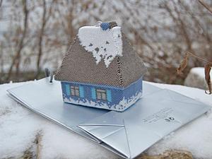 Домик для Снегурочки в конкурсе на Лучший подарок 2015! | Ярмарка Мастеров - ручная работа, handmade