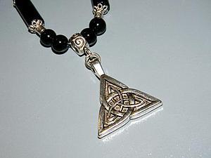 Кельтский талисман Трикветра | Ярмарка Мастеров - ручная работа, handmade