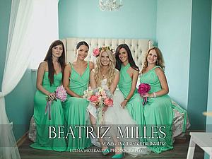 Мятная свадьба с платьями трансформерами на подружках невесты.   Ярмарка Мастеров - ручная работа, handmade